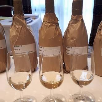 Blind wine tasting