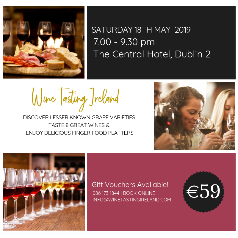 Wine Tasting Event – Sat 18 May 2019