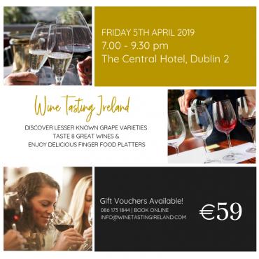 Wine Tasting Event – April 5th 2019