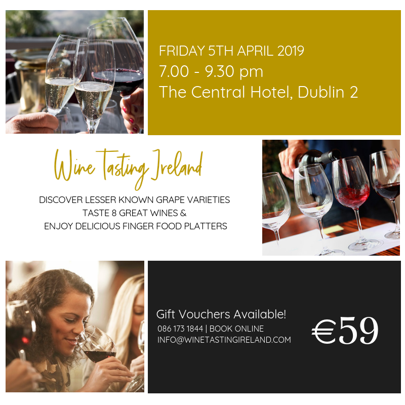 Wine Tasting Event – April 5th 2019