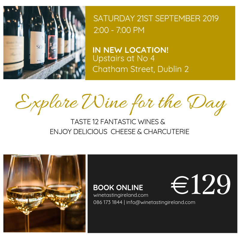 Wine Lovers Full Day Wine Appreciation Experience – Saturday 21st September
